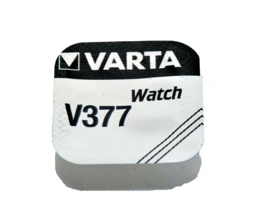 Varta V377  SR66 SR626SW Silver Oxide Watch Battery 1.55v [1-Pack]